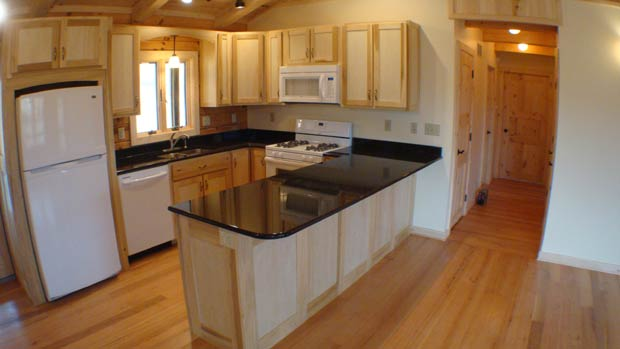Hand Crafted Solid Poplar Kitchen Cabinets: Clement
