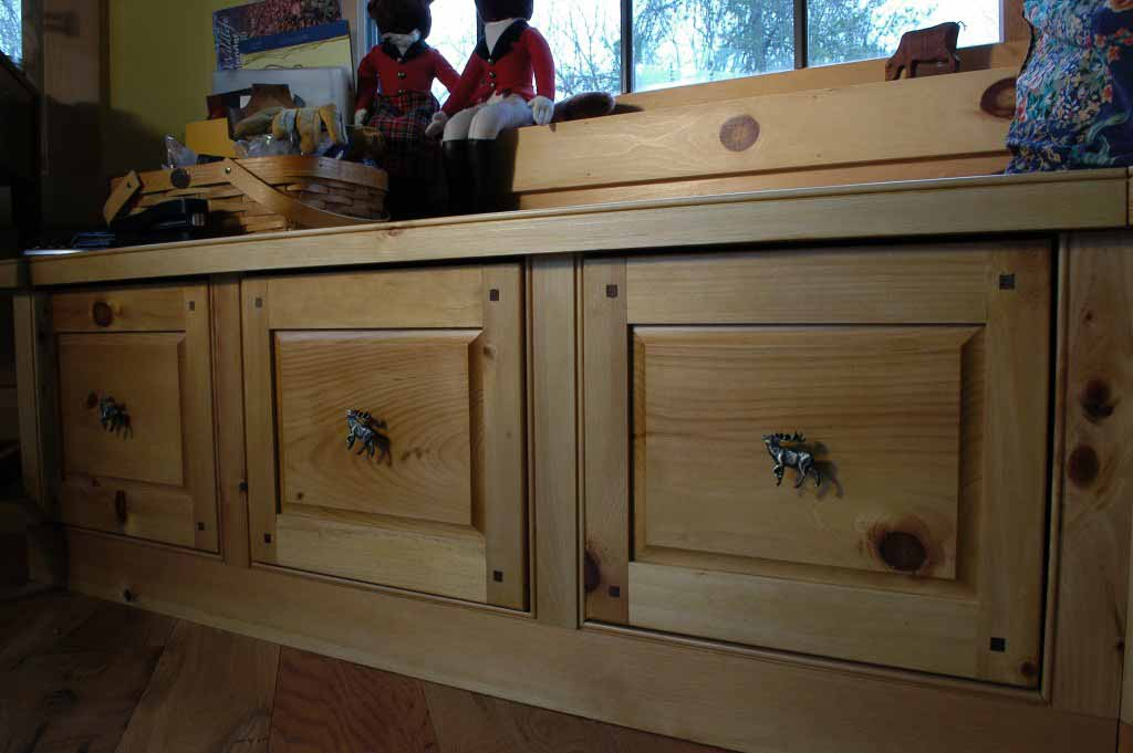 Pine File Cabinets