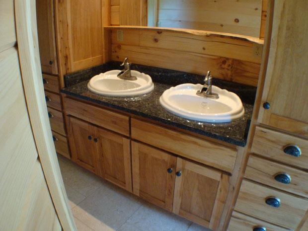 Hand Crafted Solid Maple Bathroom Vanity  Izzo. ReedBuild com   Bathrooms  Maple Bathroom Vanities and Cabinets