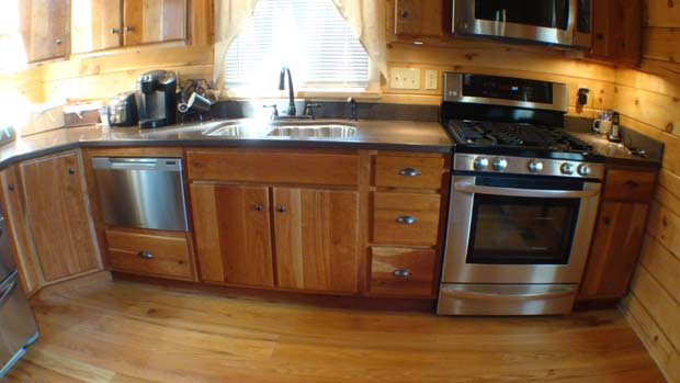Hand Crafted Solid Cherry Kitchen Cabinets: Loser