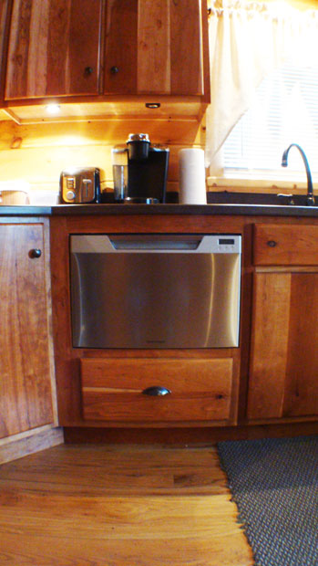 Hand Crafted Soild Cherry Kitchen Cabinets: Loser