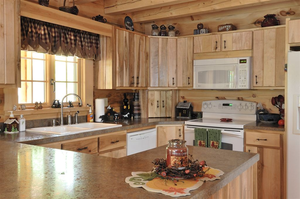 Hand Crafted Solid Maple Kitchen Cabinets Baumann