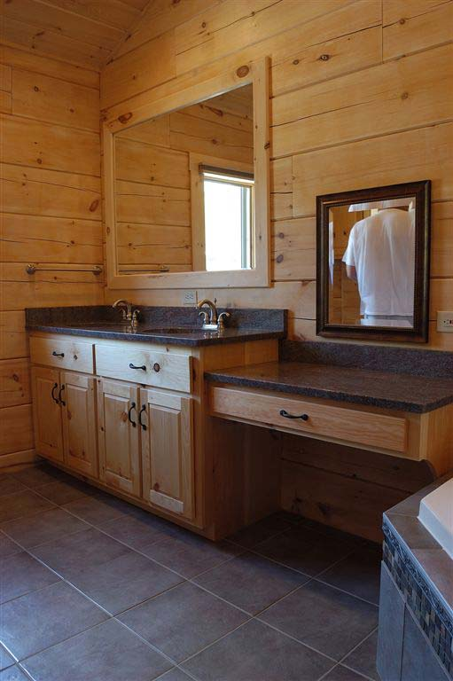 Pine Bathroom Vanities And Cabinets