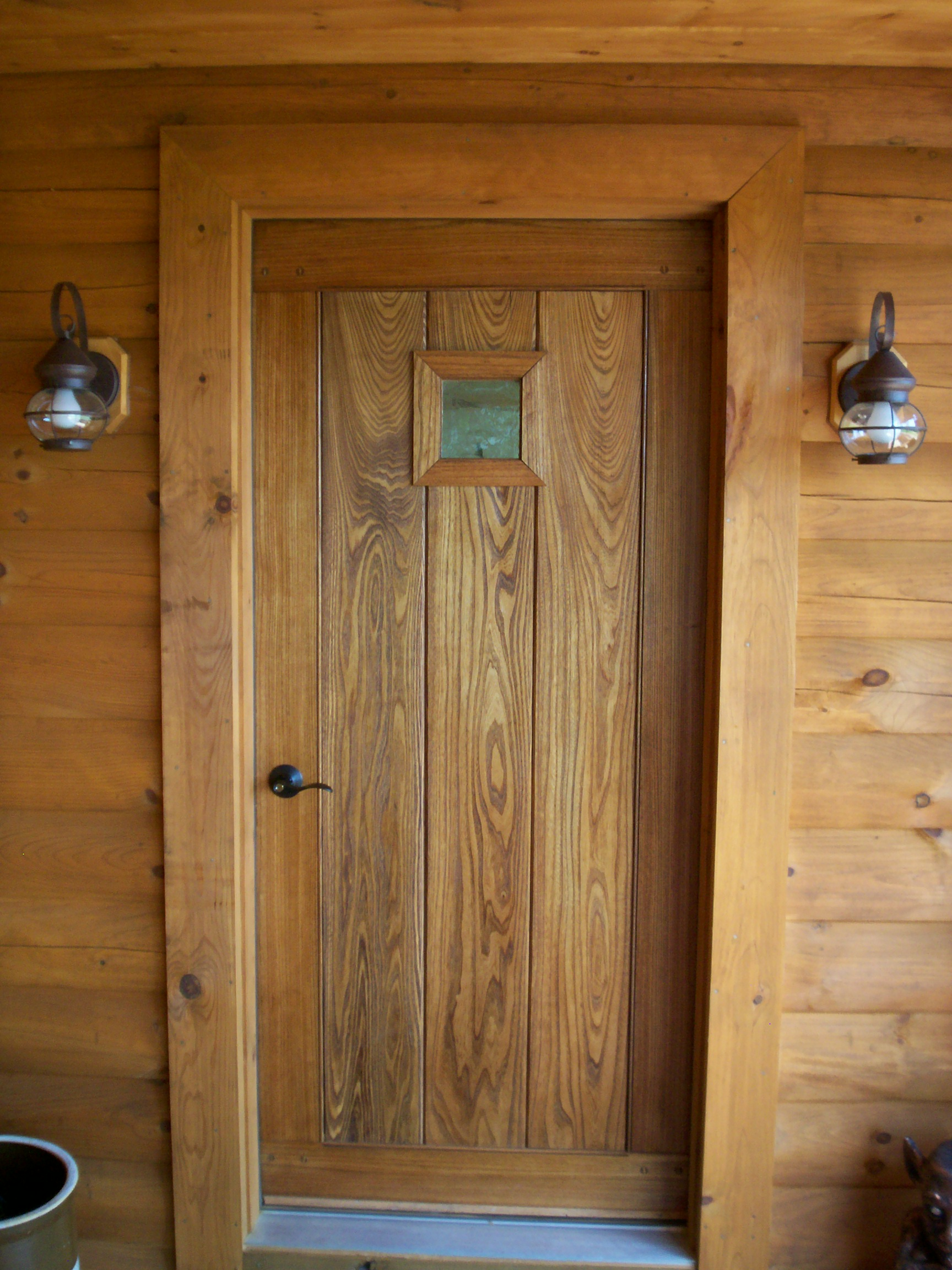 Oak door for Hardwood exterior doors